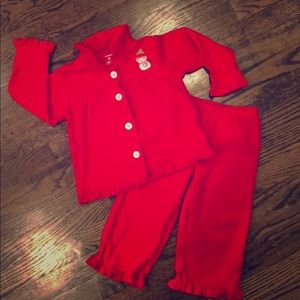 NWOT Carter's Holiday Pajama Set